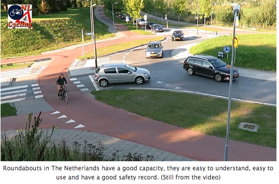Roundabouts in the Netherlands